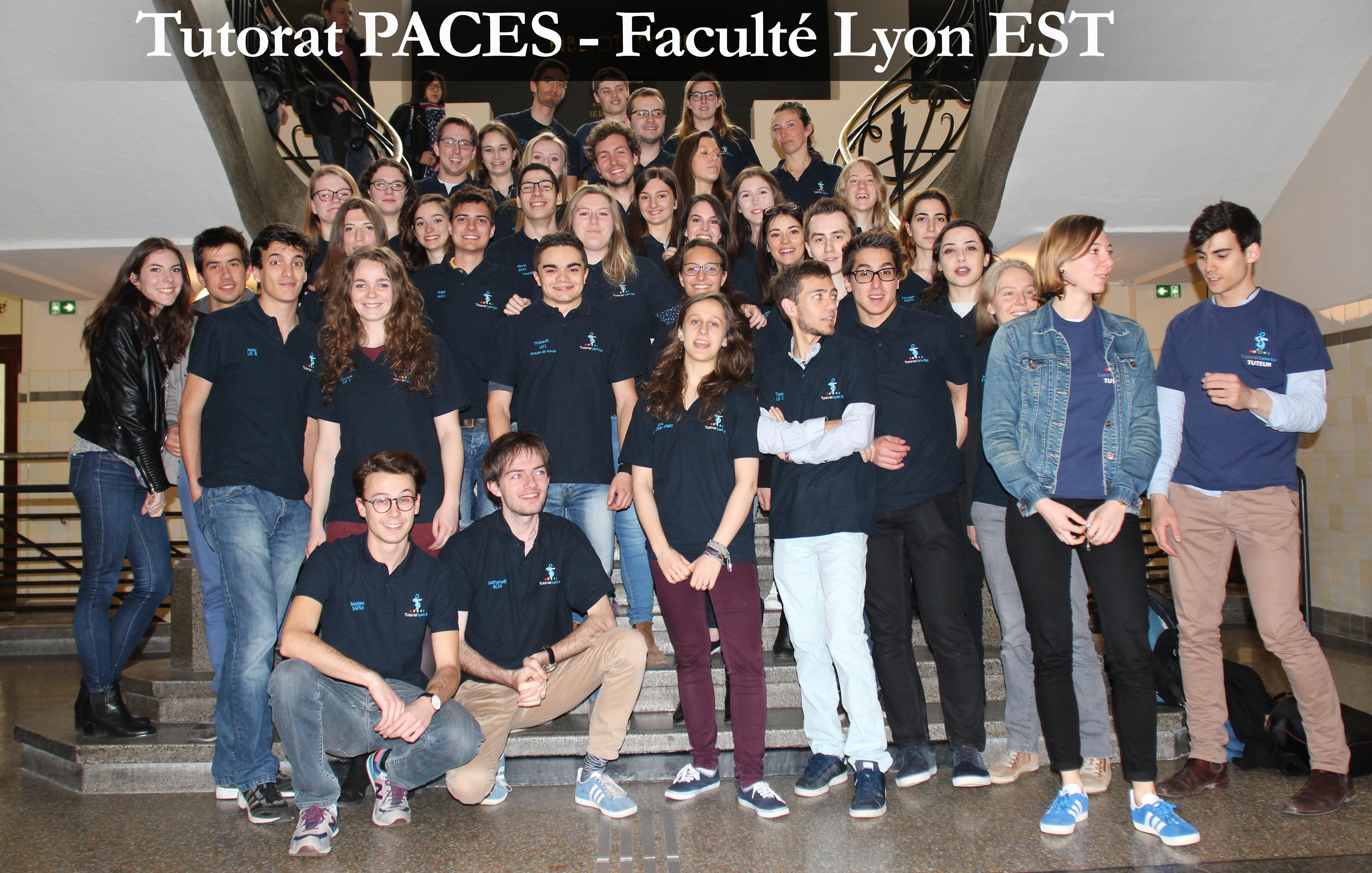 tutorat PACES Lyon EST 2017