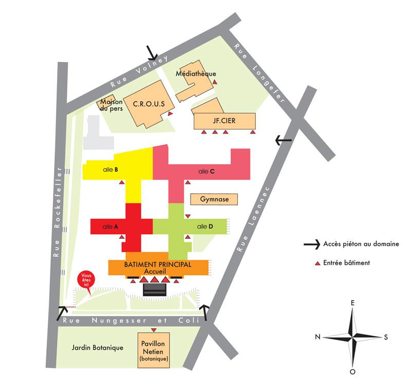 Plan domaine RockeFeller